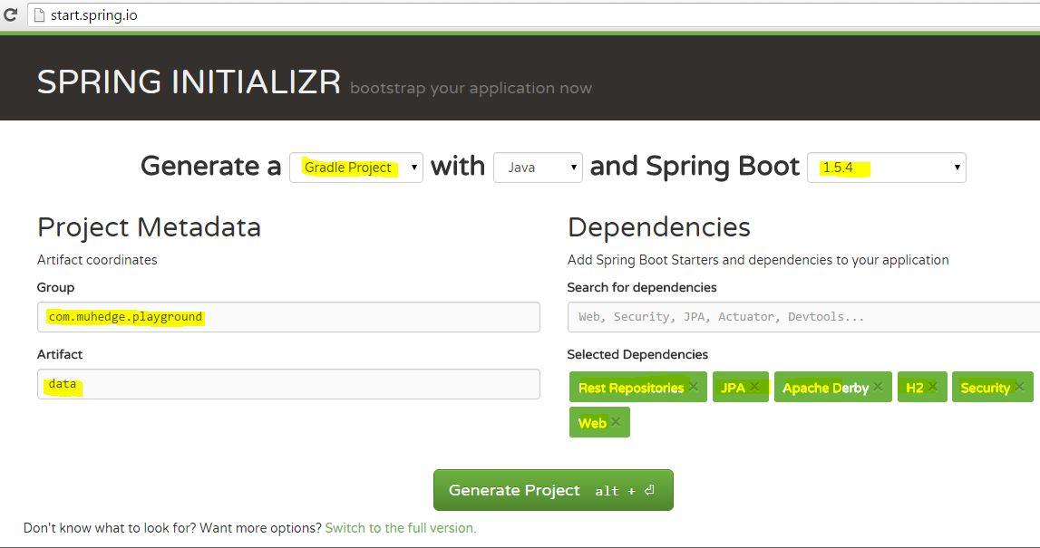 spring-boot: Makes Spring Data Easier – ichihedge